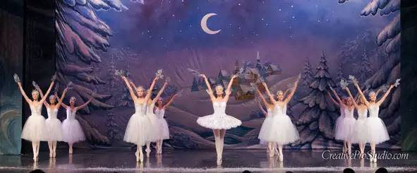 Snowflake Scene from The Nutcracker