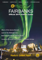 2019 Explore Fairbanks Visitors Guide Cover