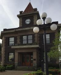 original Georgetown City Hall building in Washington state