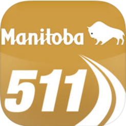Manitoba 511 app for road conditions in the province