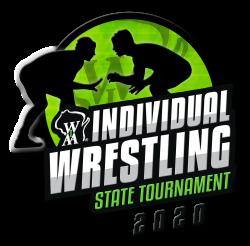 WIAA Individual Wrestling 2020 logo