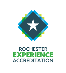 Rochester Experience Accrediation Logo