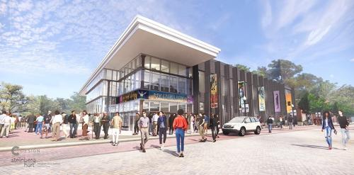 Cain Center for the Arts Rendering