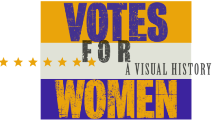 Votes for Women Exhibition Logo
