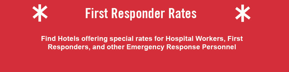 First Responder Rates Banner
