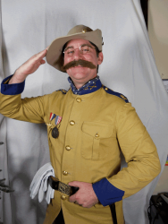Teddy Roosevelt at Henry B Plant Museum