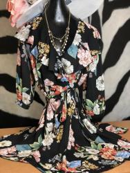 Woman's black dress from Threadz