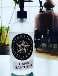 Huber's Starlight Hand Sanitizer