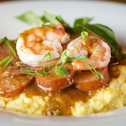 60 Bites - River Room - Shrimp & Grits