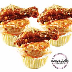 60 Bites - Coccadott's - Buffalo Chicken Wing Cupcake