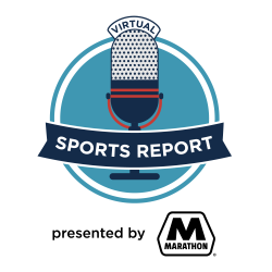 Virtual Sports Report presented by Marathon Logo