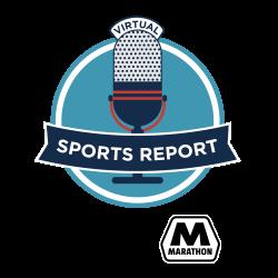 Virtual Sports Report presented by Marathon Logo