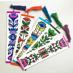Sparrow Papercrafts bookmarks