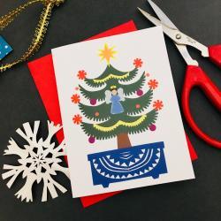 Sparrow Papercrafts card