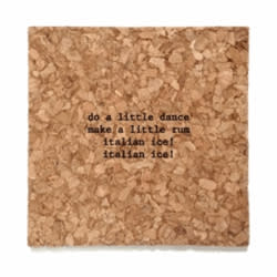 Mistaken Lyric Coasters from The General Store