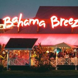 Bahama Breeze Restaurant Exterior nighttime