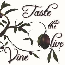 Taste the Olive & Vine Logo