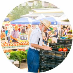 Farmers Market Circle Thumbnail