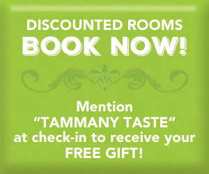 Tammany Taste discount room button
