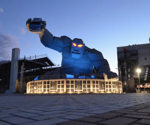 Monster Mile Blue Light