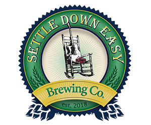 Settle Down Easy Brewing Co. Logo