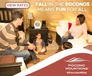 2019 Fall Marketing Campaign - Family Fun Online Banner Ad - Pocono Mountains Visitors Bureau