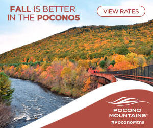 2019 Fall Marketing Campaign - Fall Scenery Online Banner Ad - Pocono Mountains Visitors Bureau