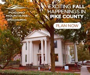 2019 Fall Marketing Campaign - Pike County Events Online Banner Ad - Pocono Mountains Visitors Bureau