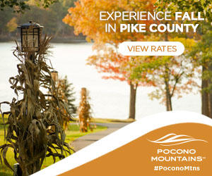 2019 Fall Marketing Campaign - Pike County Getaway Online Banner Ad - Pocono Mountains Visitors Bureau