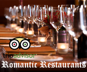 TripAdvisor's Romantic Restaurants