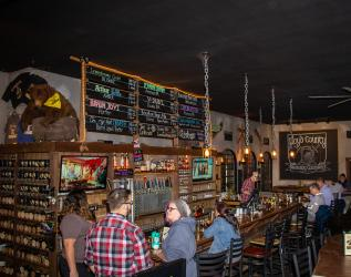 Floyd County Brewing bar
