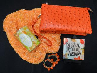Fall Accessories (women's earrings, pocketbook, scarf) from Strandz & Threadz fall accessories