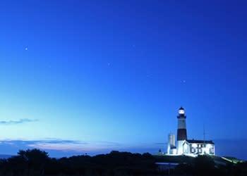 Montauk Lighthouse winter - Photo by Long Island CVB
