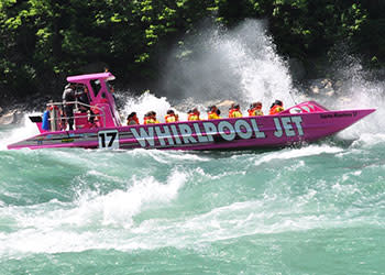Whirlpool Jet Boat Tours Photo Courtesy of Whirlpool Jet Boat Tours