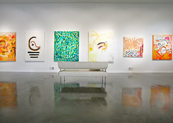DM Weil Gallery Interior art exhibits