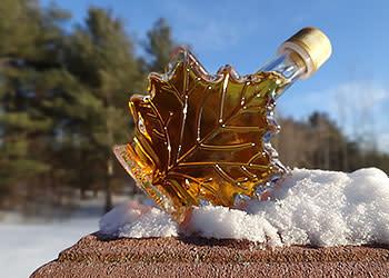 Maple Syrup - Photo Courtesy of Adirondack Coast Visitors Bureau