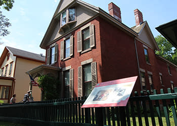 Susan B. Anthony House and Museum - Photo Courtesy of Visit Rochester