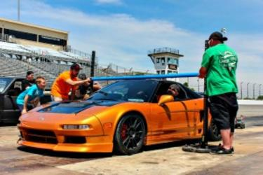 The Auto Limbo Contest is just one fun event during Slamology at Lucas Oil Raceway in Brownsburg.