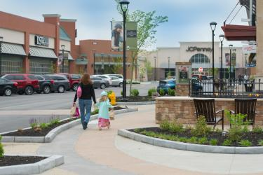 Shoppers at Shops at Perry Crossing