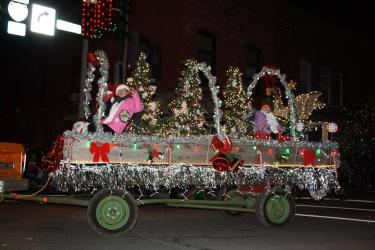 Christmas Under The Stars Parade