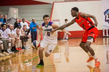 Johnny Scruggs (#0) is one of my favorite Indiana Lyons players (photo courtesy of Indiana Lyons)