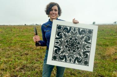 Sparrow Papercrafts print