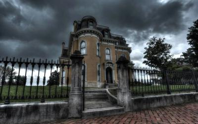 Culbertson Mansion, scary exterior