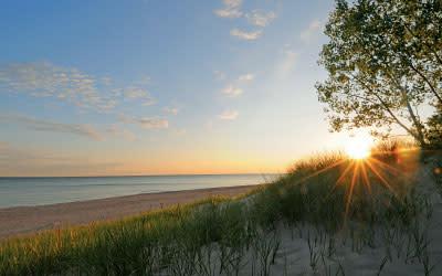 Indiana Dunes State Park Beach - Indiana DNR