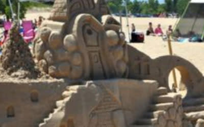 Indiana Dunes Sand Sculpture Contest
