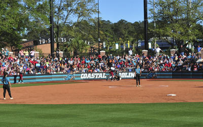 St. John Stadium CCU Softball