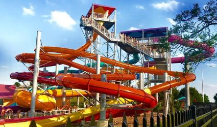 Oceans of Fun Water Slide