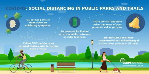 social distance in parks