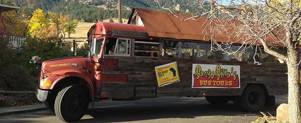 Banjo Billy's Bus Tour at Flatirons