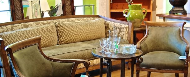 Furniture at Greenwood Wildlife Consignment Gallery